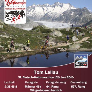 Aletsch-Halbmarathon 2016