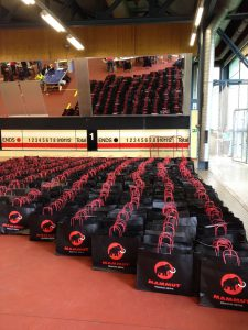Goody-Bags für die Starter