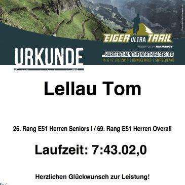 Eiger Ultra Trail 2016 – Mein erster Ultra