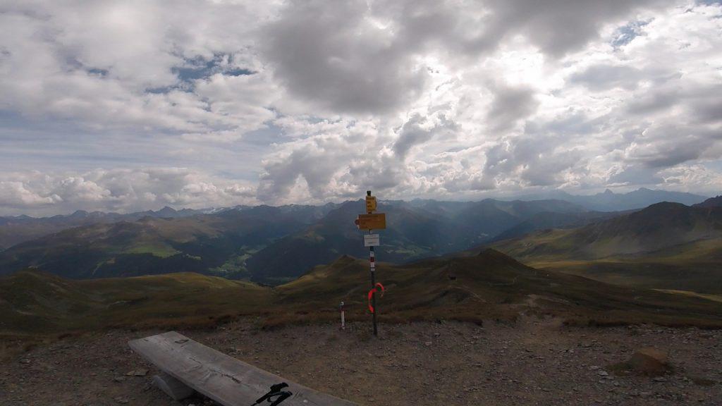 Blick vom Chörbschhorn zurück