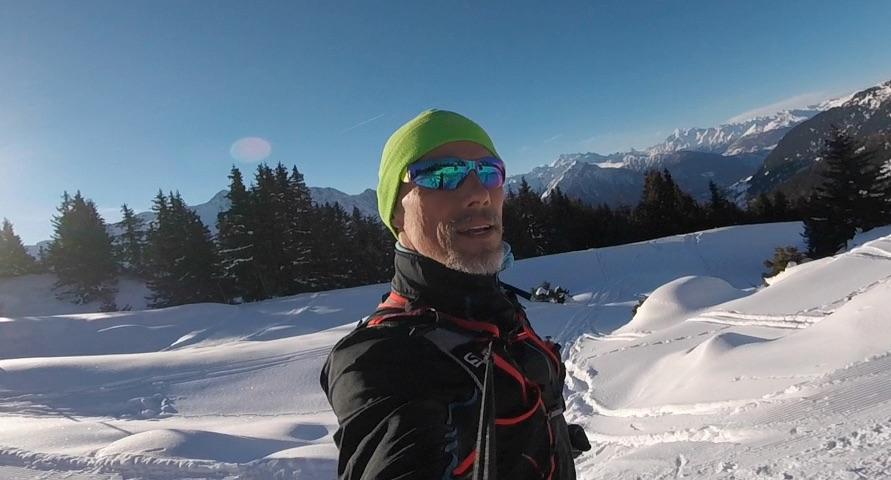 Heile Läuferwelt im Wallis
