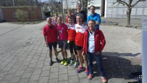 2. Kennenlernlauf mit der Organisation vom Muttenz-Marathon