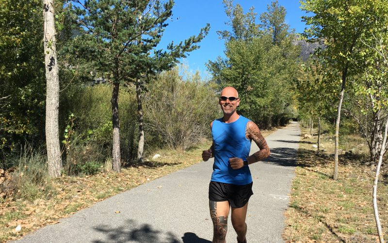 Laufen in Spanien
