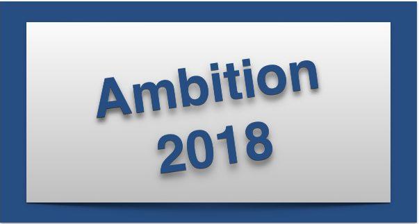 Planung 2018 – Neue Herausforderungen
